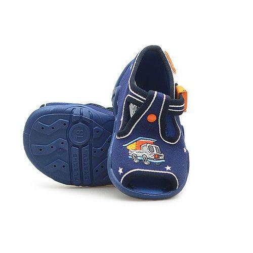 Sandałki dziecięce Befado 217P077 Granatowe 18x4 19x4, kolor niebieski