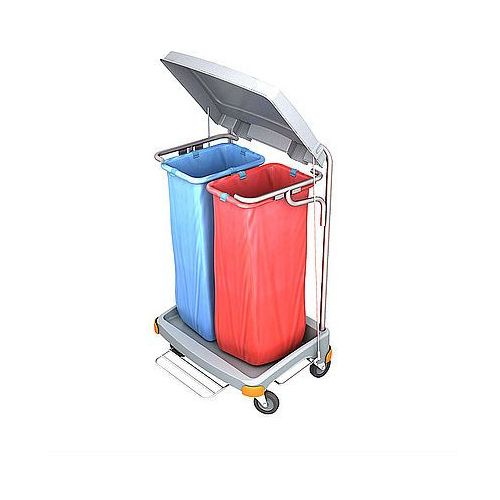 Wózek na odpady z tworzywa sztucznego Splast TSOP-0018