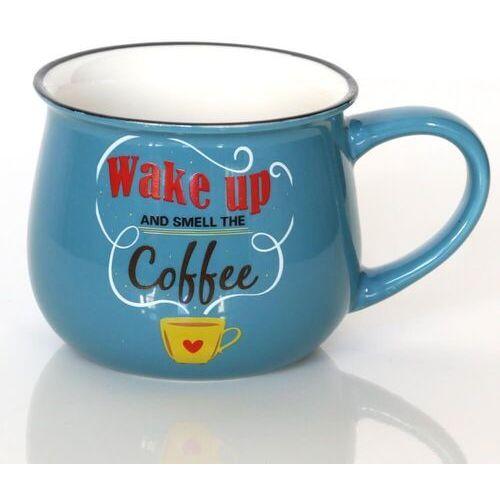Kubek wake up coffee – wyjątkowe naczynie z uroczym nadrukiem, pomysłowy prezent podarunek na każdą okoliczność marki Cup&you cup and you