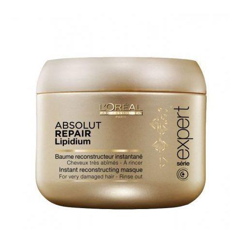 absolut repair lipidium - maska regenerująca włosy uwrażliwione 200ml marki Loreal