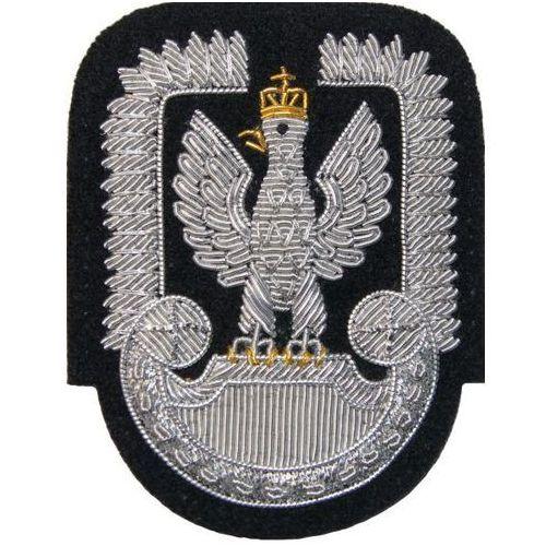 Sortmund Orzełek do czapki garnizonowej sił powietrznych - haftowany bajorkiem