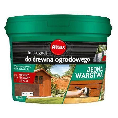 - impregnat do drewna ogrodowego, kasztan, 10 l marki Altax