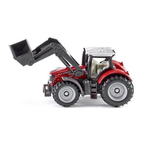 Siku Pojazd traktor massey ferguson z przednią ładowarką (4006874014842)