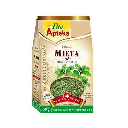 Herbata Mięta liść 50g Malwa
