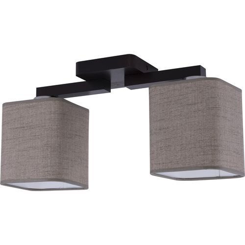 Tklighting Plafon oprawa sufitowa tk lighting nadia venge 2x60w e27 len naturalny/venge 2659