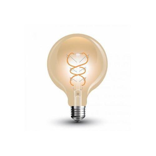 V-tac E27 led filament retro żarówka 5w, 2200k, g95 + bezpłatna natychmiastowa gwarancja wymiany!