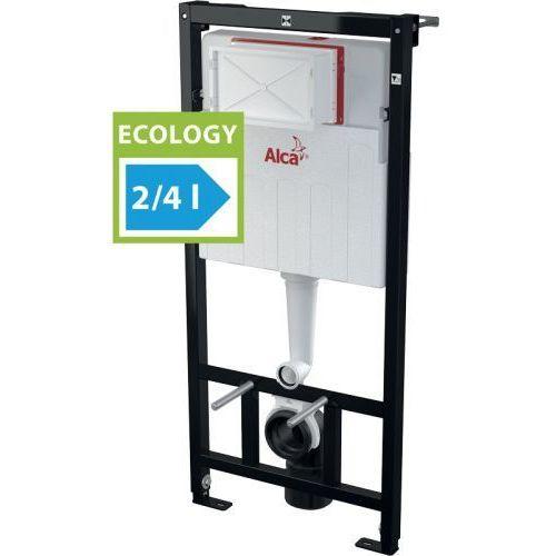 Alcaplast am101/1120e zestaw podtynkowy wc - ekologiczne spłukiwanie 2/4l