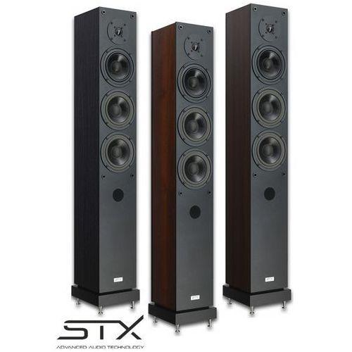 Kolumny głośniki podłogowe f-140ns z podstawkami marki Stx