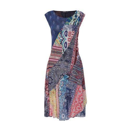 sukienka 'vest_rasha' niebieski / mieszane kolory, Desigual, 34-44