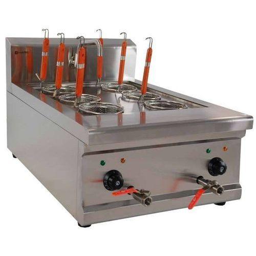Makaroniarka elektryczna nastawna 6 koszy | 6000w | 900x520x(h)474mm marki Cookpro