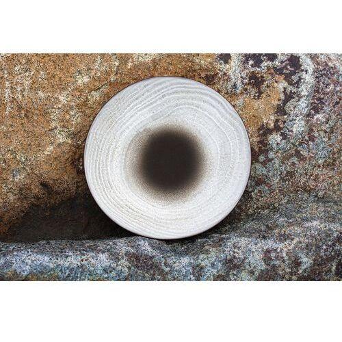 Revol Talerz deserowy 16 cm, porcelanowy swell czarny piasek (rv-653514-6)