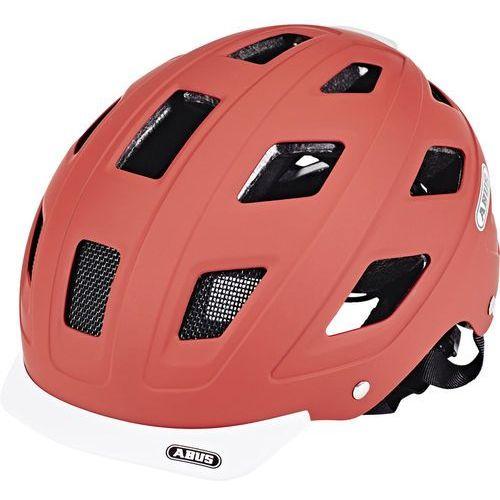 hyban kask rowerowy czerwony m | 52-58cm 2018 kaski rowerowe marki Abus