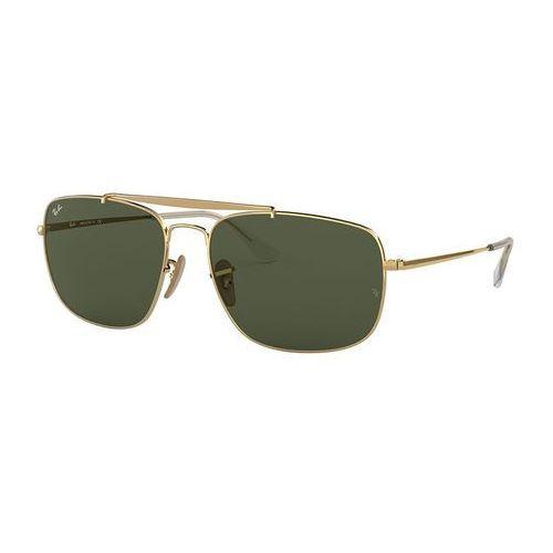 Ray-ban Rayban the colonel okulary przeciwsłoneczne goldcoloured (8053672866650)