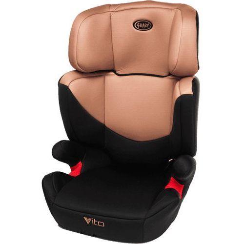 4BABY Vito XV (15-36kg) Fotelik – Beżowy - produkt z kategorii- Foteliki grupa II i III