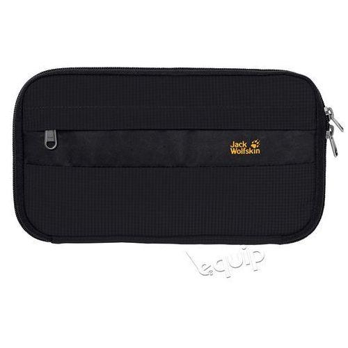Portfel podróżny boarding pouch rfid - black marki Jack wolfskin
