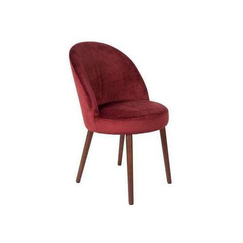 Dutchbone:: Krzesło BARBARA czerwone, kolor czerwony