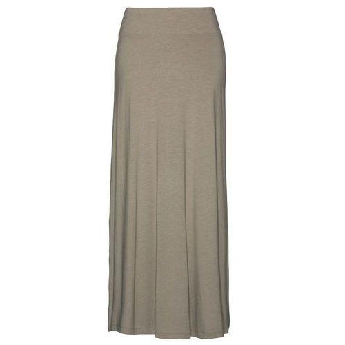 Spódnica shirtowa jasnooliwkowy, Bonprix, 40-46