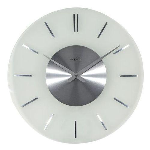 Zegar ścienny stripe radio controlled okrągły marki Nextime