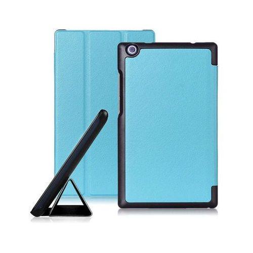 "Etui skórzane PU "" Book Case"" Lenovo Tab 2 A8-50F - Niebieski"