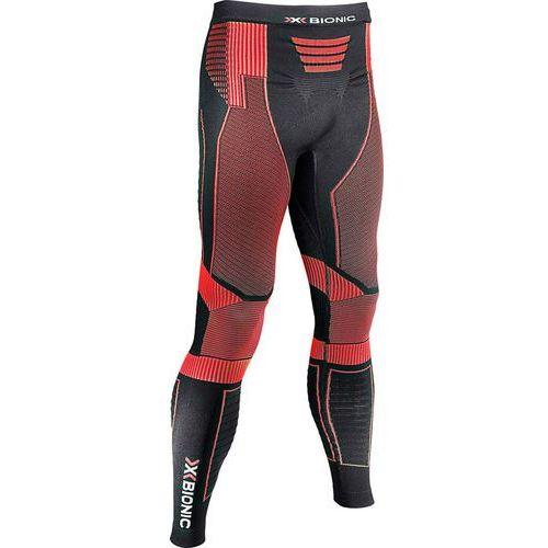 effektor power spodnie do biegania mężczyźni czerwony/czarny xxl 2018 legginsy do biegania marki X-bionic