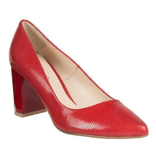 Czółenka Edeo 1851-572 - Czerwony, kolor czerwony