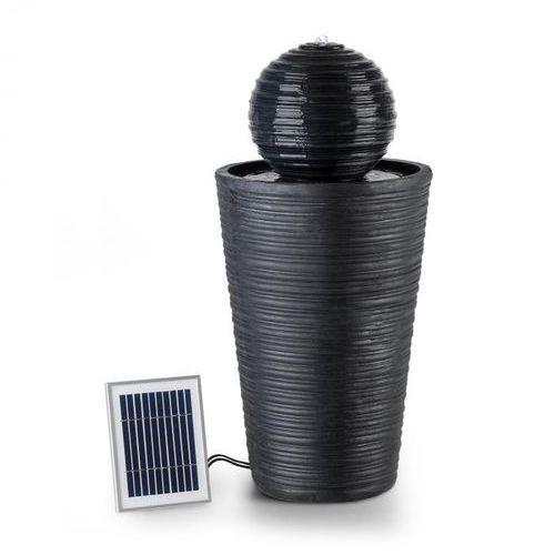 liquitorre xl fontanna solarna 200 l/h panel solarny 2 w akumulator led tworzywo polyresin marki Blumfeldt