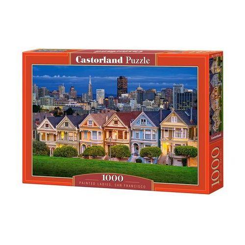 Castor Puzzle 1000 painted ladies, san francisco - od 24,99zł darmowa dostawa kiosk ruchu (5904438103751)
