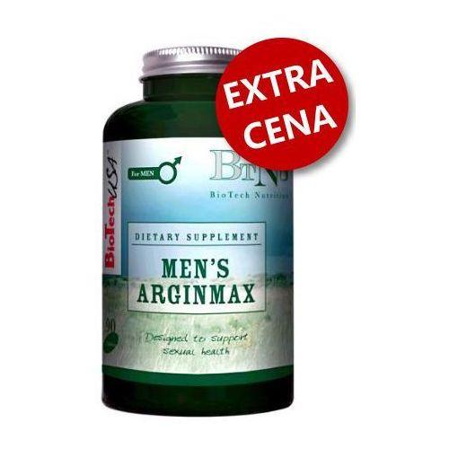 Men's Arginimax 90 kaps - naturalna viagra + powiększenie penisa