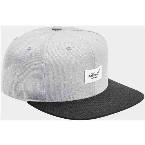 czapka z daszkiem REELL - Pitchout 6-Panel Cap Grey Black (GREY-BLACK) rozmiar: OS, kolor czarny