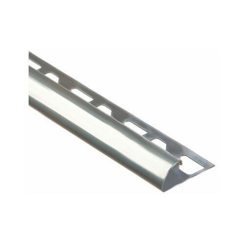 Profil do glaury zewnetrzny półokrągły 10 mm / 2.5 m Stal nierdzewna Standers (3276000594291)