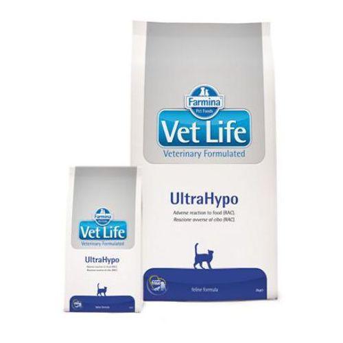 vet life cat ultrahypo karma dla kotów op.400g-2kg marki Farmina