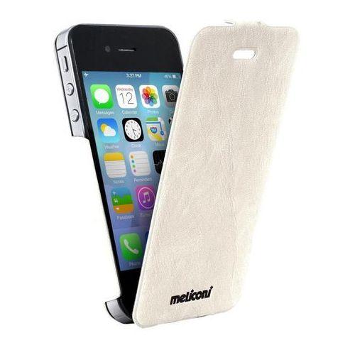 Meliconi Etui Slim Flap iPhone 4/4s biały (8006023205400) Darmowy odbiór w 20 miastach! - sprawdź w wybranym sklepie