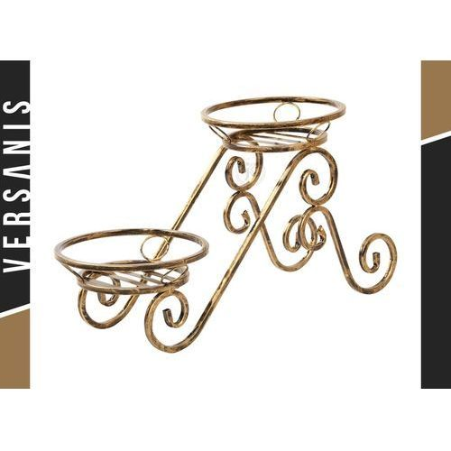 Kwietnik metalowy na 2 donice - marki Kapelańczyk