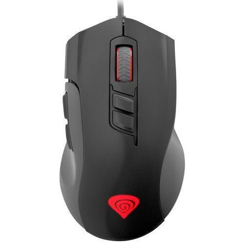 Genesis Mysz dla graczy xenon 400 5200dpi optyczna z oprogramowaniem