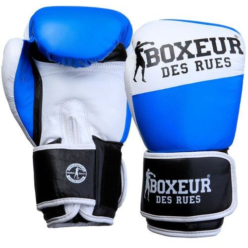Boxeur Rękawice bokserskie bxt-591 niebiesko-biały (10 oz) (8058660513332)