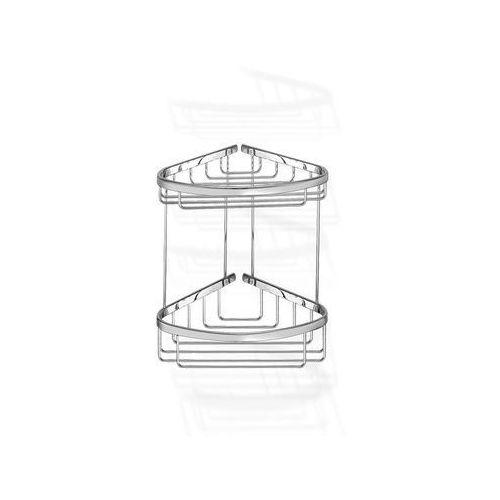 Sanco koszyk łazienkowy podwójny rogowy A3-009
