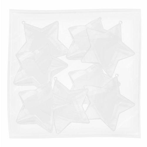 Gwiazdka plastikowa przezrocz 80mm 8szt CRAFT-FUN - 80mm \ 8szt (2501234504565)