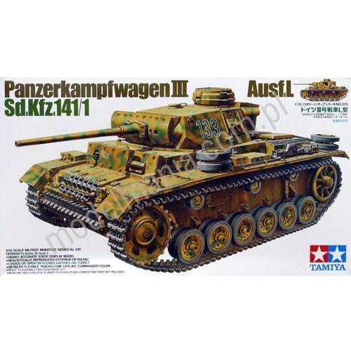 Niemiecki czołg średni PzKpfw III Ausf. L Tamiya 35215