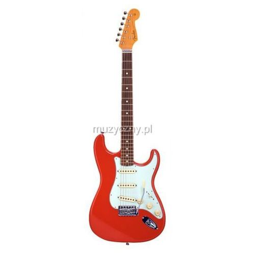 Fender 60s Stratocaster Fiesta Red Japan gitara elektryczna