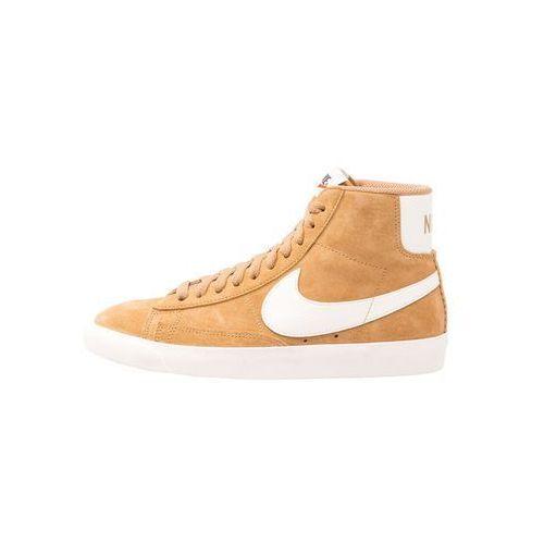 Nike Sportswear BLAZER MID VNTG SUEDE Tenisówki i Trampki wysokie elemental gold/sail/black, 35.5-43