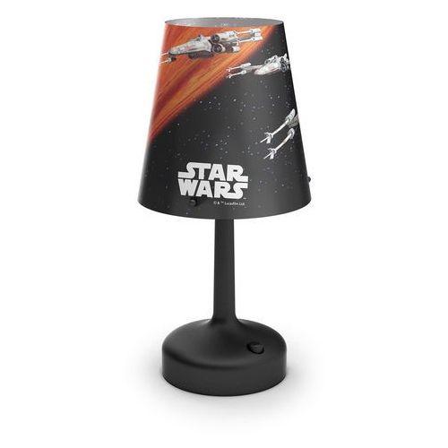 Philips 71888/30/16 - dziecięca lampa stołowa star wars spaceships 1xled/0,57w/3xaa