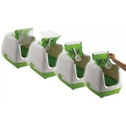 Toaleta dla kota z filtrem Flip 2 Yarro Moderna - Odcienie bordowego z kategorii Pozostałe dom i ogród