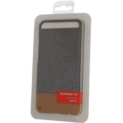 Huawei Etui HUAWEI P10 Plecki Skóra-Filc Brązowe (51991892) Darmowy odbiór w 20 miastach!, kolor brązowy