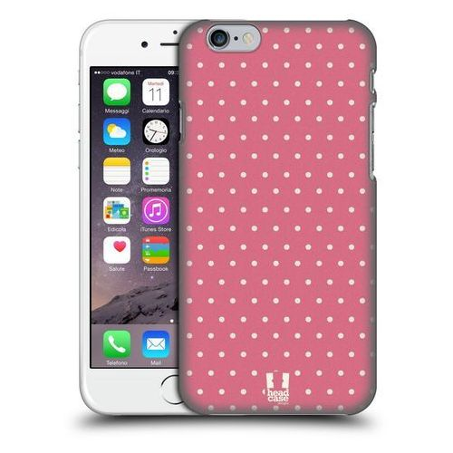 Head case Etui plastikowe na telefon - french country pink dots