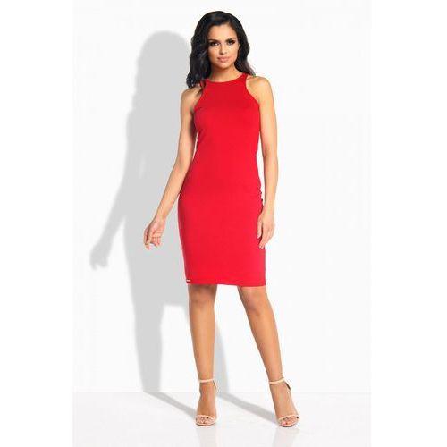 Lemoniade L185 czerwona sukienka