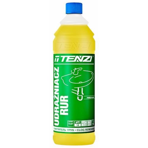 Tenzi udrażniacz rur, t-47 (1 litr) - preparat do udrażniania rur, studzienek kanalizacyjnych i odpływów (5900929307349)