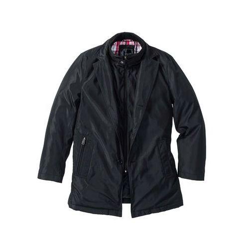 Krótki płaszcz zimowy czarny marki Bonprix
