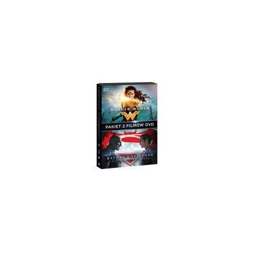 WONDER WOMAN/BATMAN VS SUPERMAN (2DVD) PAKIET (Płyta DVD) (7321909348028)