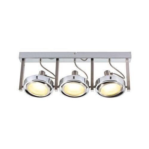 Reflektorowa LAMPA sufitowa BARONI 56946-3 Globo PLAFON ruchoma OPRAWA LED 15W PROJEKTOR chrom z kategorii Plafony