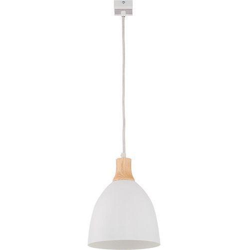 Lampa wisząca leo 1 biała do kuchni biura marki Sigma